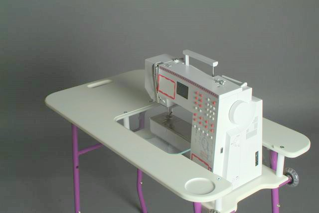 Sewezi portable sewing table karen combs studio blog - Small sewing machine table ...