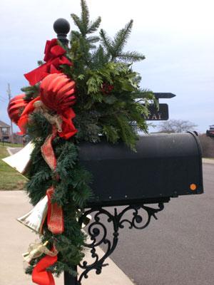 Mailbox @ Christmas