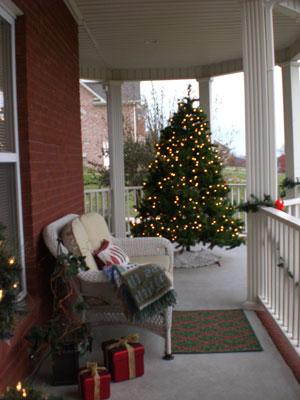 Porch @ Christmas