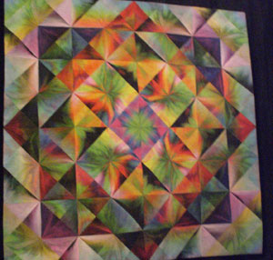Blushing Triangles 4 by Gloria Hansen