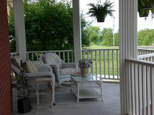 porch - summer