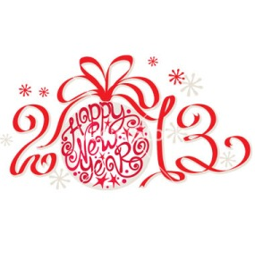 decoration--happy-new-year-2013-vector-1061083