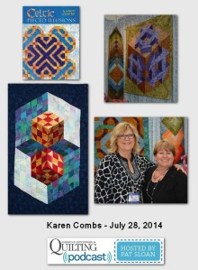 Pat Sloan American Patchwork and Quilting radio Karen Combs July 204 guest (2)