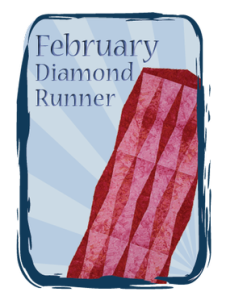 February Diamond Runner