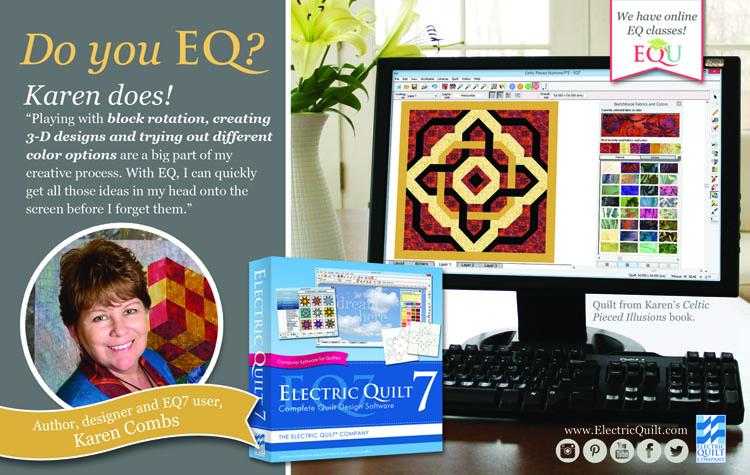 The Electric Quilt Company Karen Combs Studio Blog