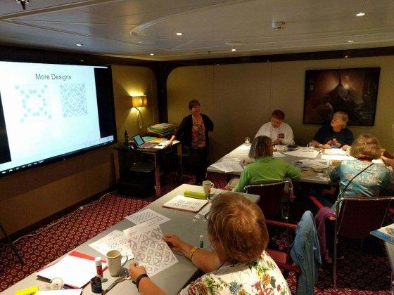Quilt Seminars at Sea | Karen Combs Studio Blog : quilt cruise - Adamdwight.com