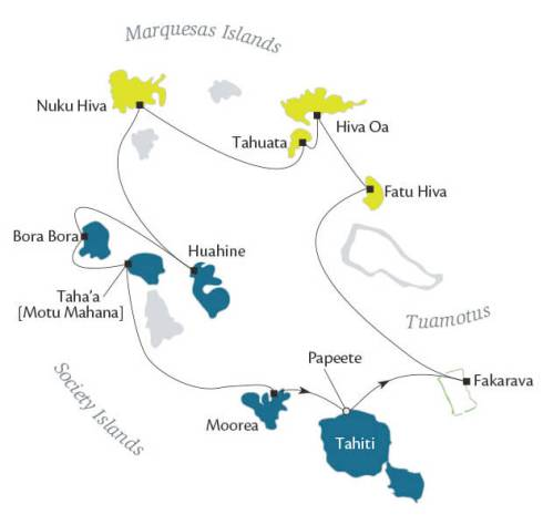 tahiti-itinerary-map