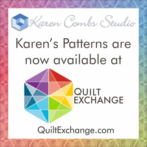 Quilt Exchange Logo - Karen Combs - 1080 x 1080 (IG)